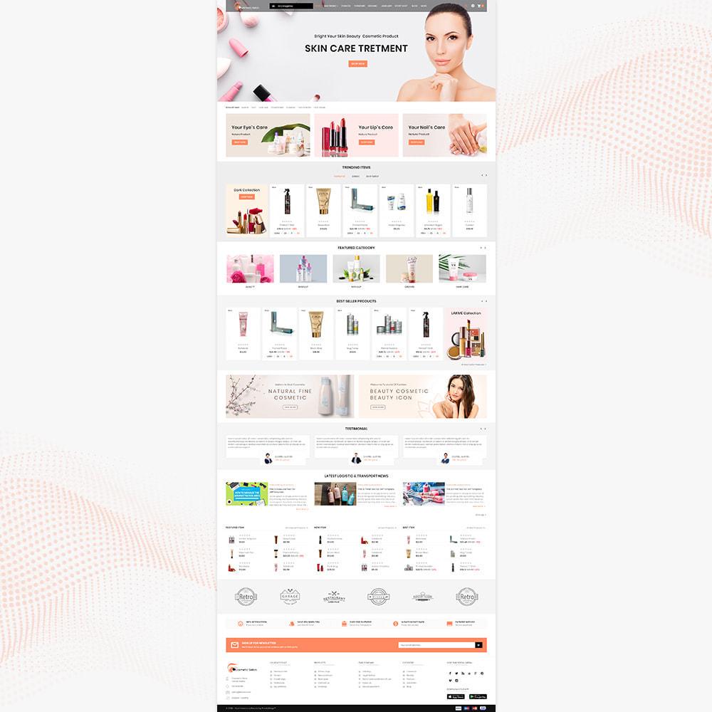 theme - Salute & Bellezza - Cosmétique – Fash Cosmetic Store - 2