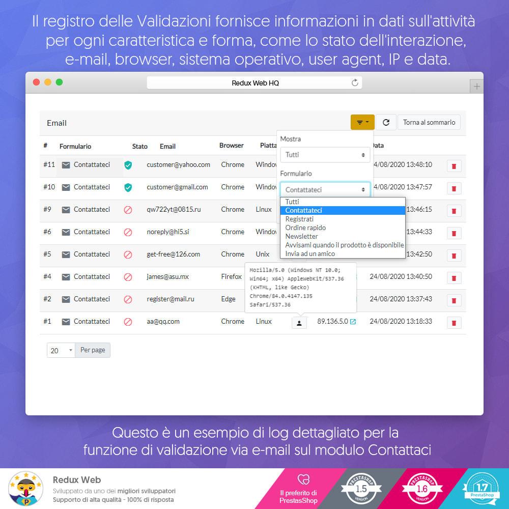 module - Security & Access - Avanzato Google Re-Captcha Anti Spam & Conti Falsi - 9