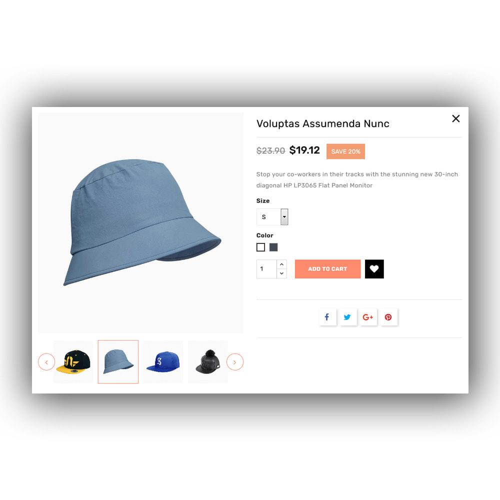theme - Mode & Chaussures - Hatstop - Cap Store - 9