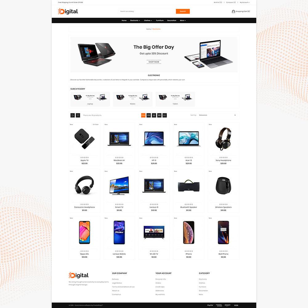 theme - Electronics & Computers - Digital  Electronic Mega Mall - 3