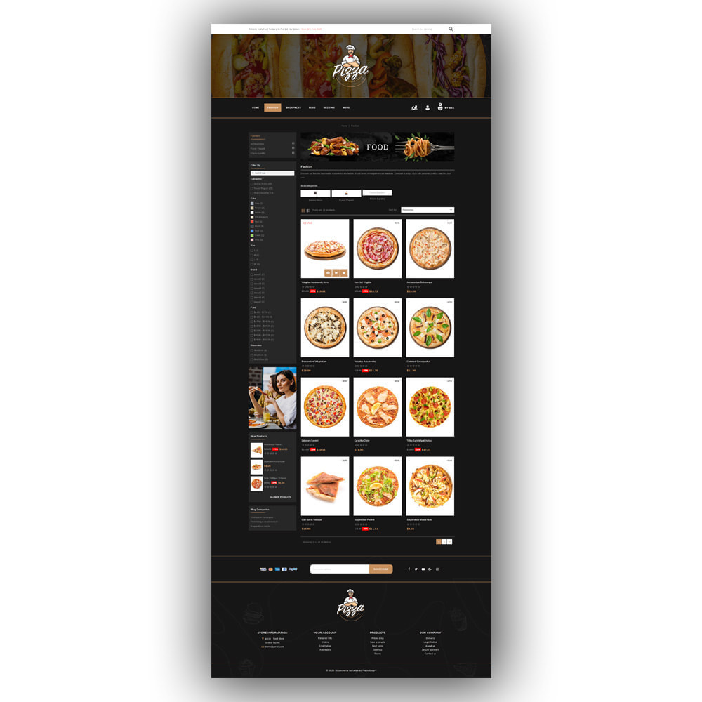 theme - Lebensmittel & Restaurants - Pizza - Food Store - 4