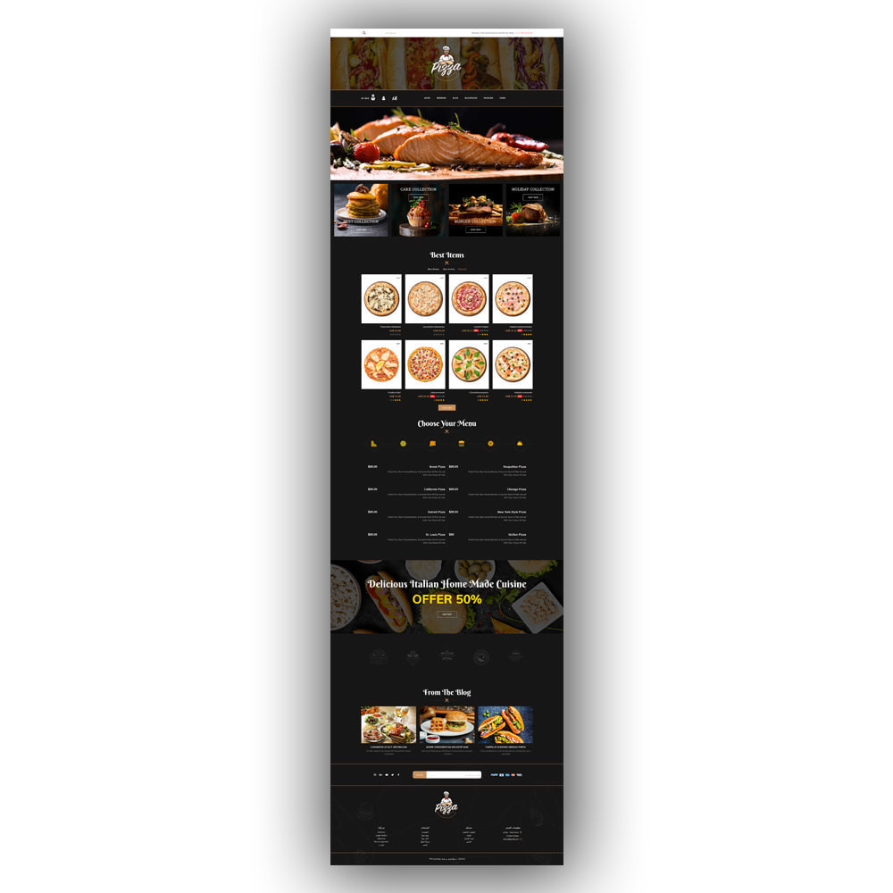 theme - Lebensmittel & Restaurants - Pizza - Food Store - 8