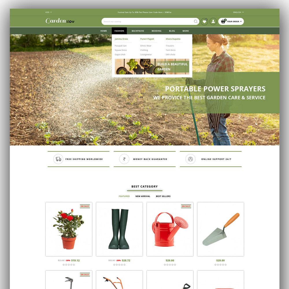 theme - Home & Garden - Gardenstow - Plant Store - 2