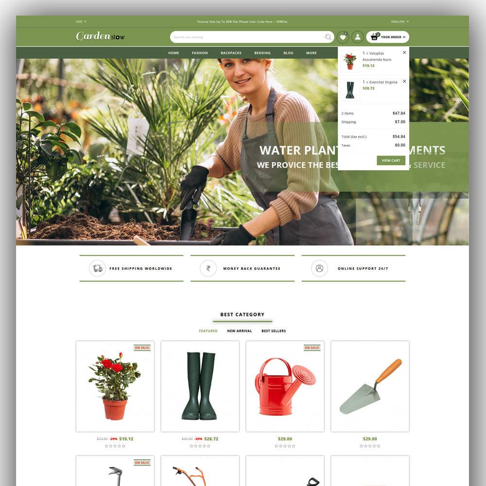 theme - Home & Garden - Gardenstow - Plant Store - 3