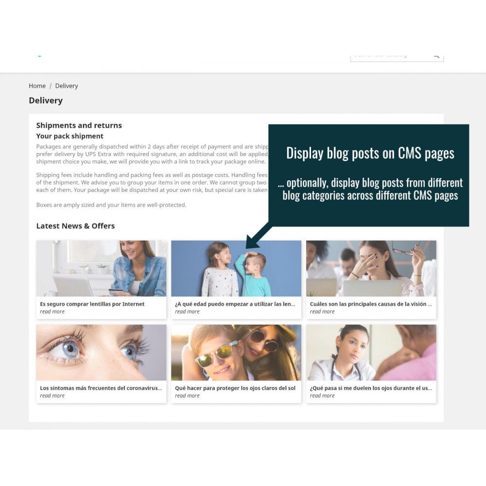 module - Blog, Forum & Nieuws - Wordpress Blog Posts - 4
