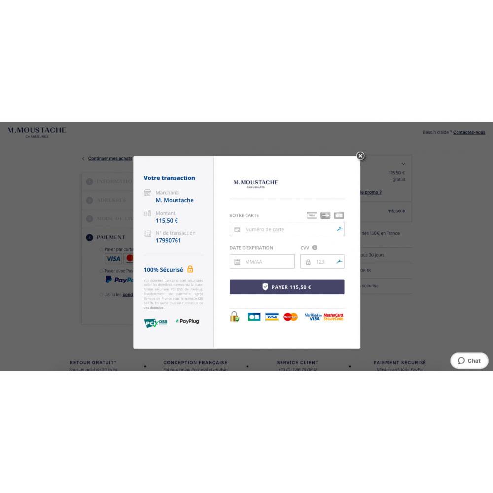 module - Pagamento con Carta di Credito o Wallet - PayPlug – Pagamento on-line semplice e sicuro! - 2