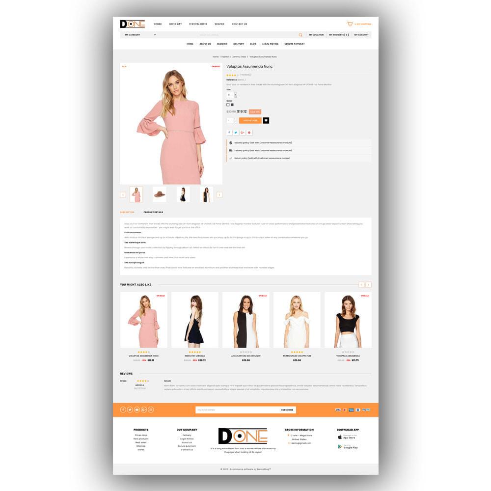 theme - Fashion & Shoes - D- One - Mega Store - 6