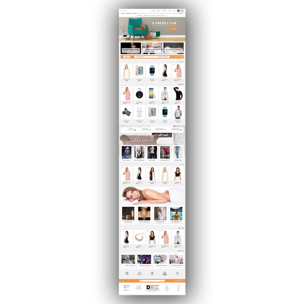 theme - Fashion & Shoes - D- One - Mega Store - 8