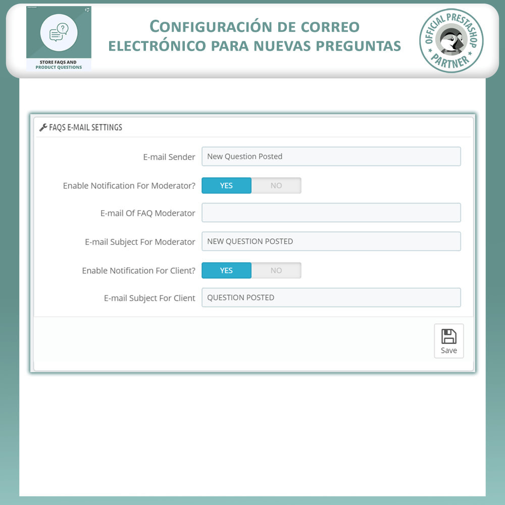 module - Preguntas Frecuentes - Reguntas Frecuentes + Preguntas del Producto - 13