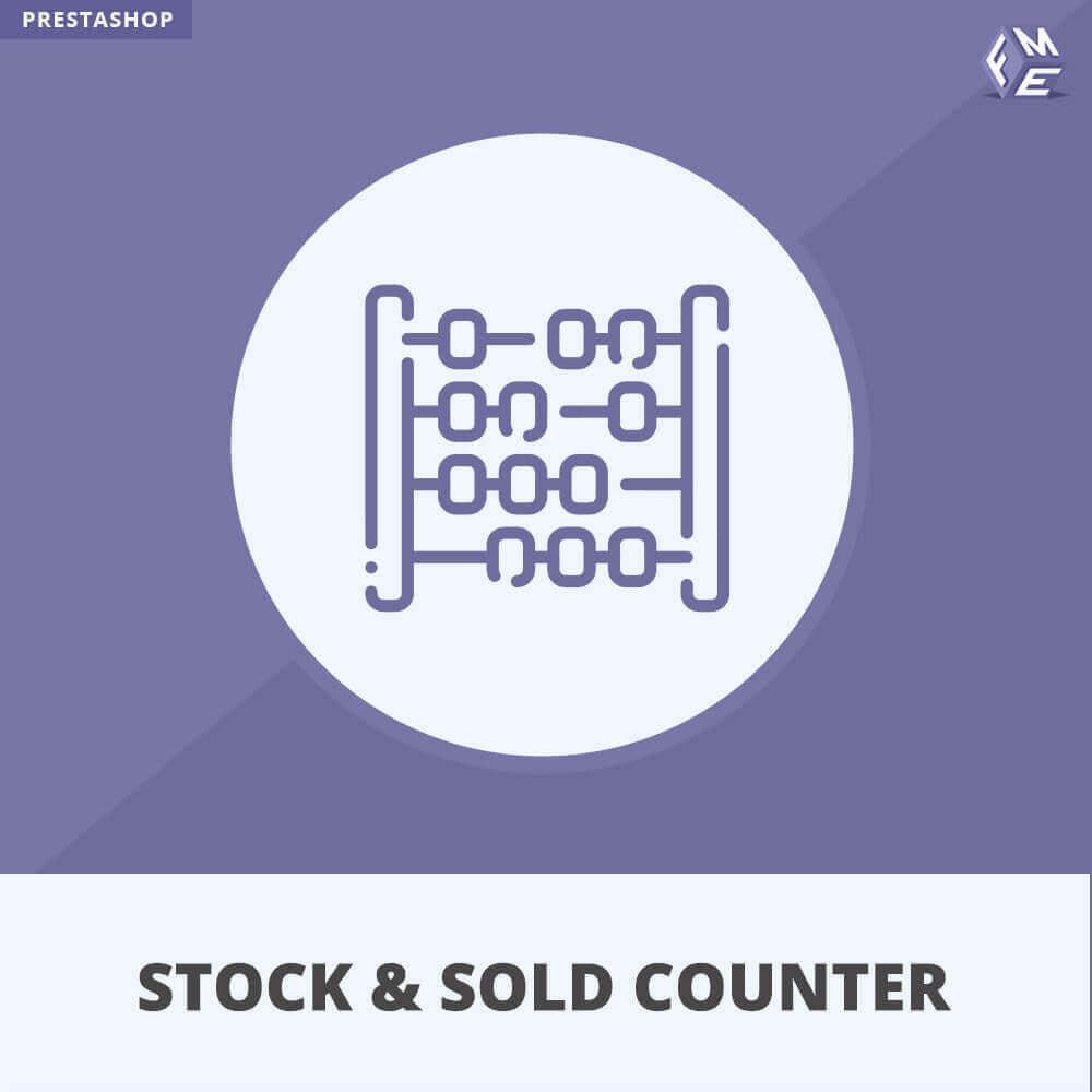 module - Zarządzanie zapasami &  Dostawcy - Licznik zapasów i sprzedanych - 1
