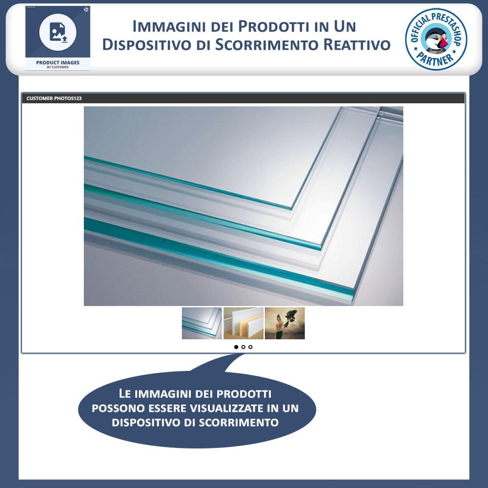 module - Visualizzazione Prodotti - Immagini Prodotti dai Clienti - 3