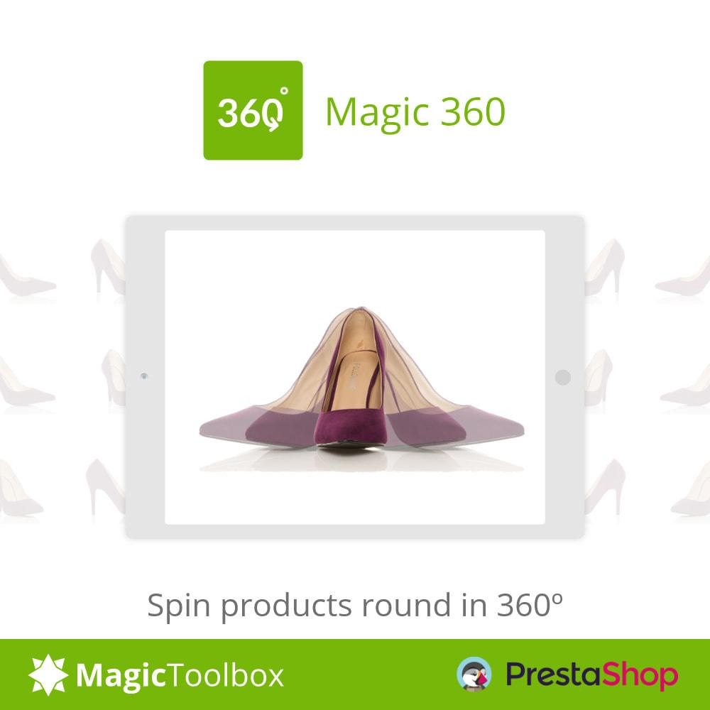 module - Visuels des produits - Magic 360 spin - 1