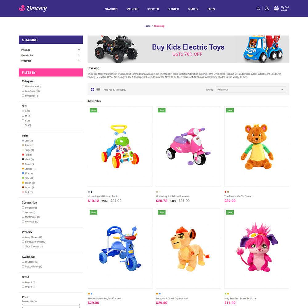 theme - Zabawki & Artykuły dziecięce - Dreamy Kids - Toys Game Store - 4