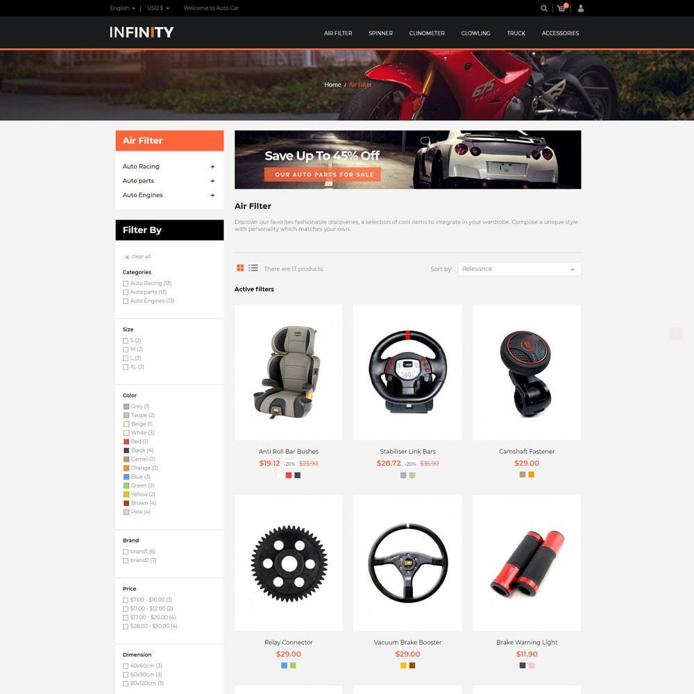 theme - Auto & Moto - Infinity Garden Tool  - Auto Car Store - 2