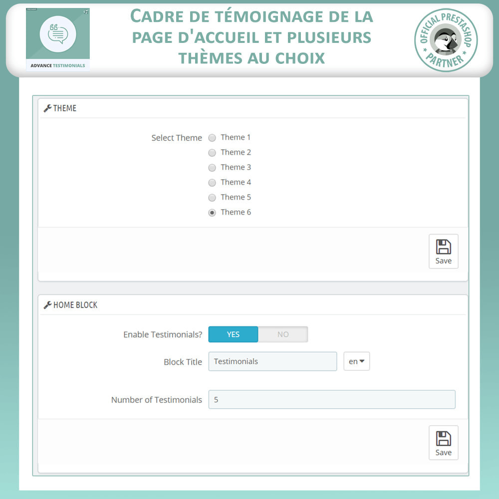 module - Avis clients - Témoignages avancés - Avis Clients avec Photos - 18