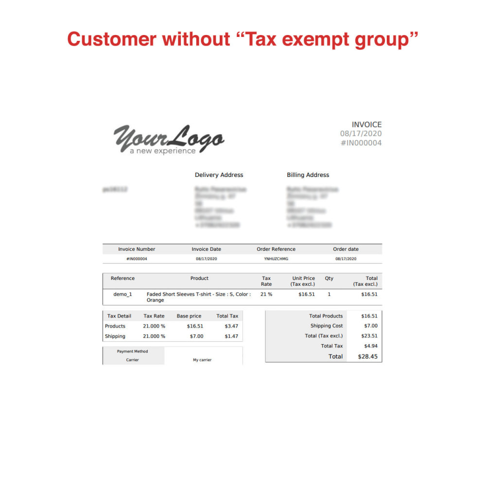 module - Boekhouding en fakturatie - Tax Exempt Group - 15