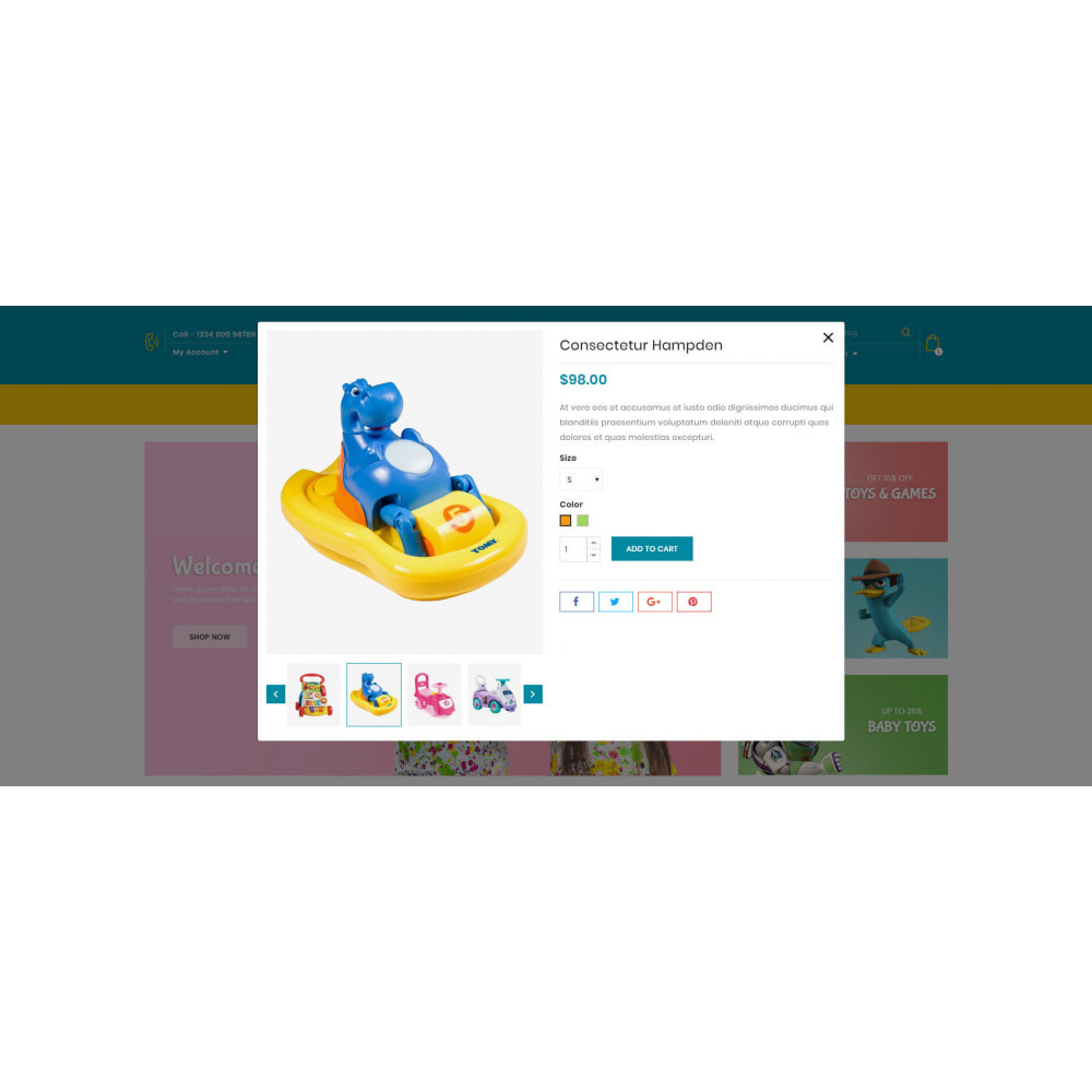 theme - Kids & Toys - Fortune - Kids Store - 7