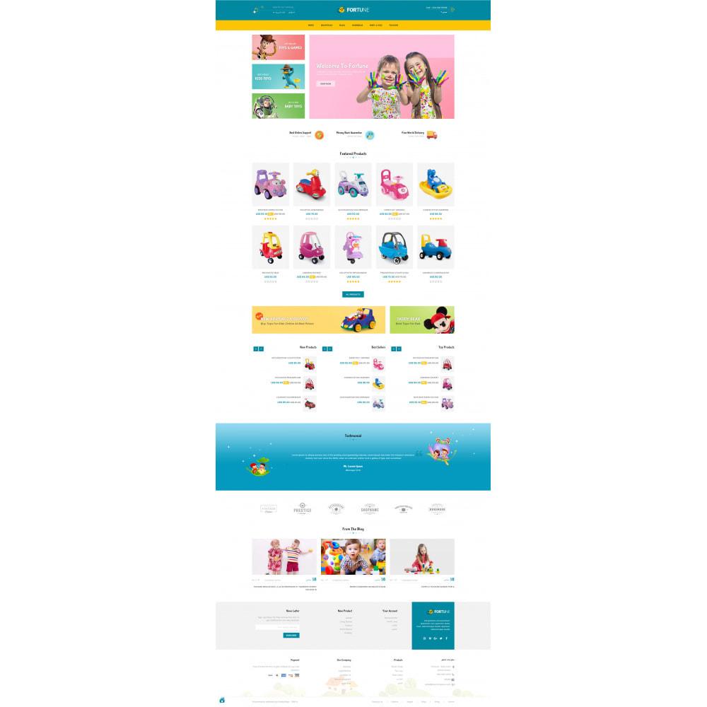 theme - Дети и Игрушки - Fortune - Kids Store - 10
