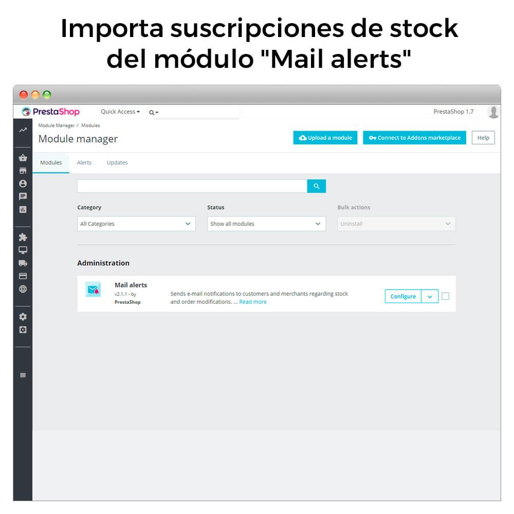 module - E-mails y Notificaciones - Alertas de Stock - Aviso de Productos Con Nuevo Stock - 9