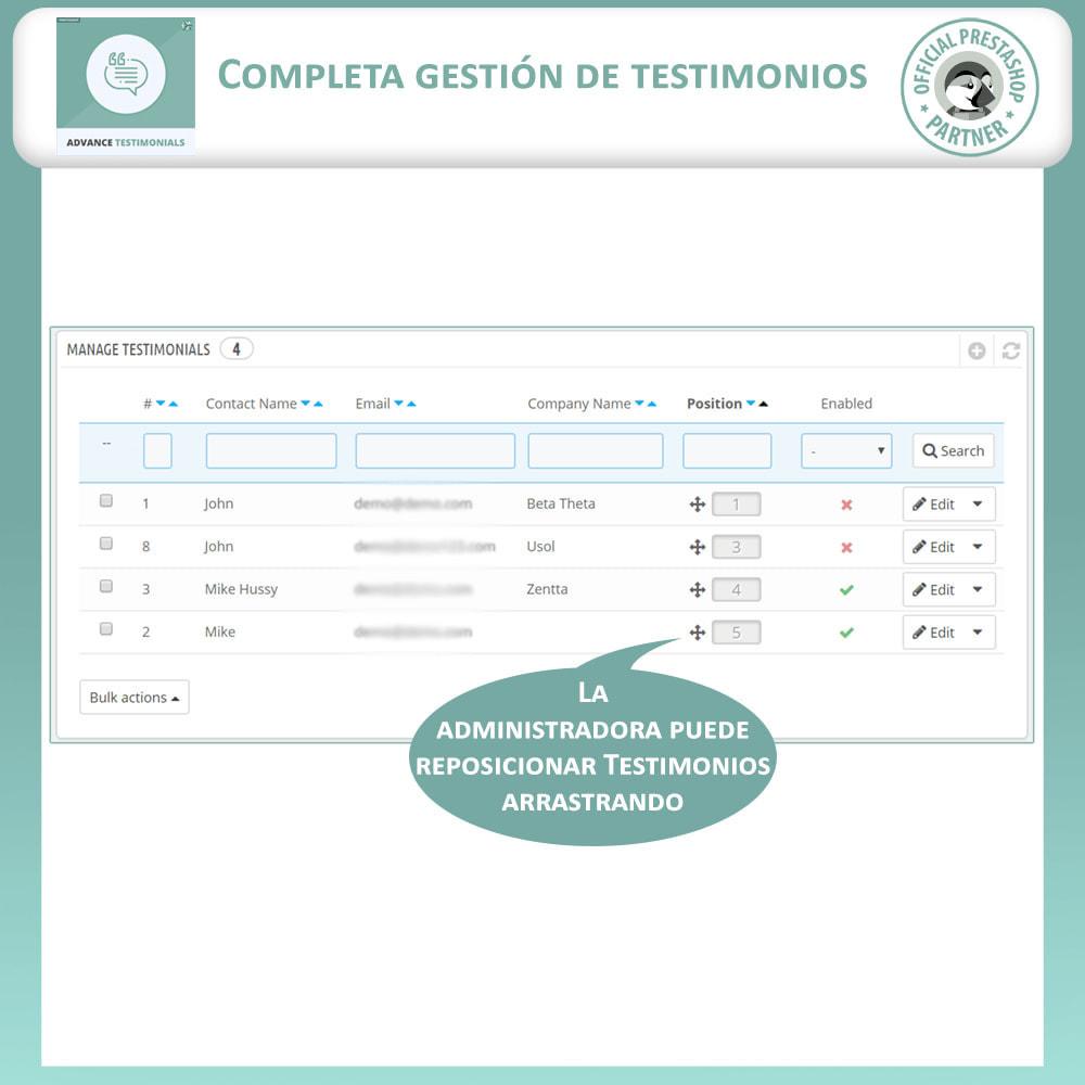 module - Comentarios de clientes - Testimonios anticipados - Reseñas de Clientes - 11