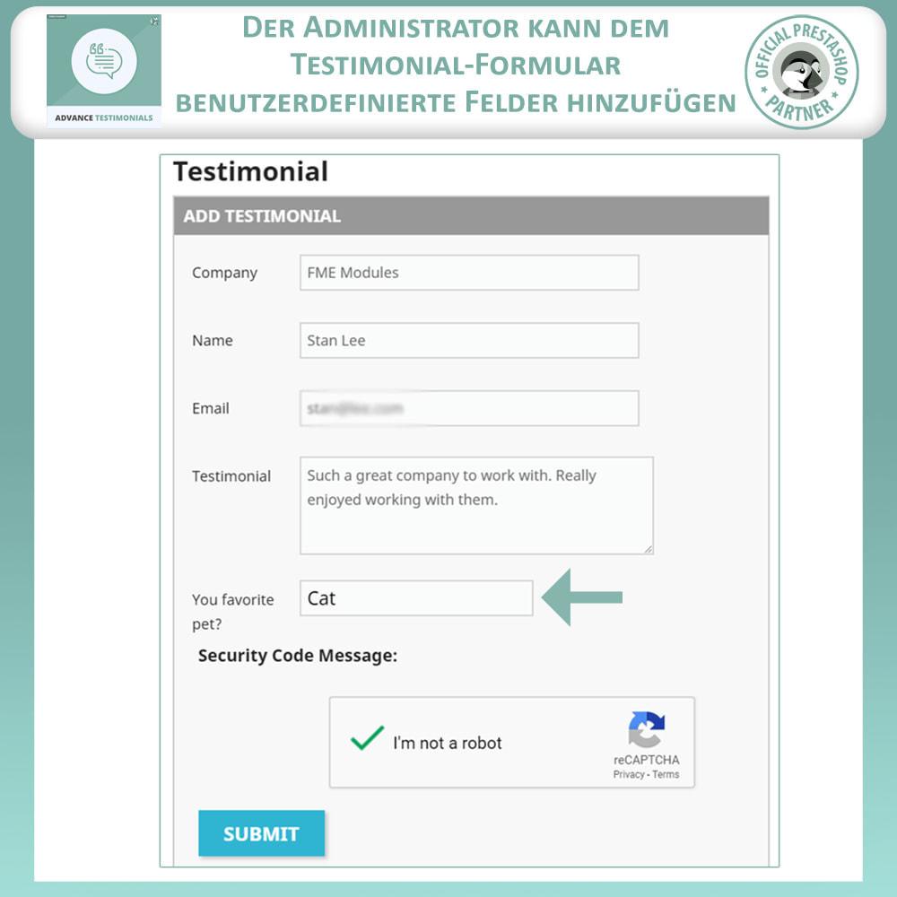 module - Kundenbewertungen - Fortgeschrittene Testimonials - Kundenrezensionen - 10