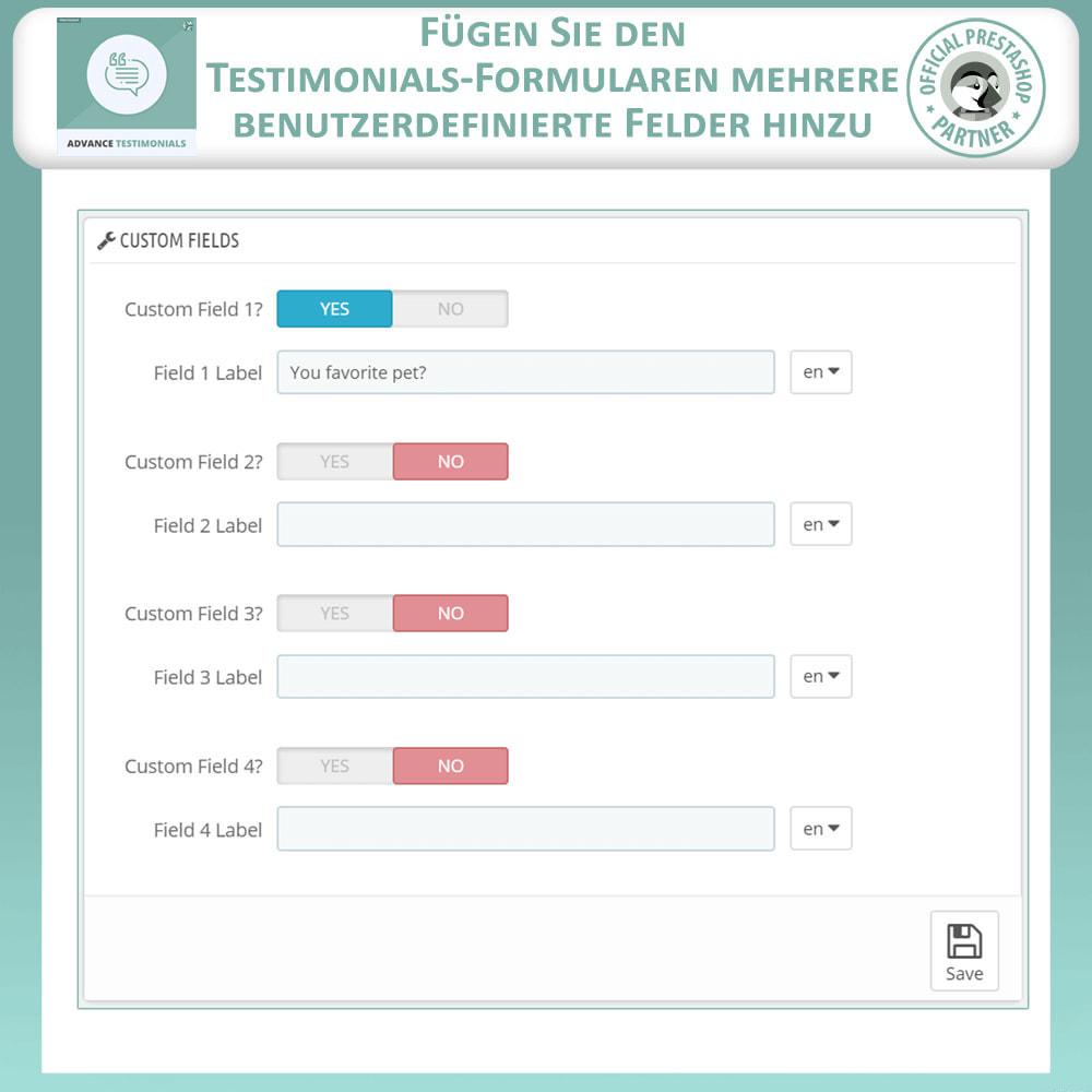 module - Kundenbewertungen - Fortgeschrittene Testimonials - Kundenrezensionen - 13