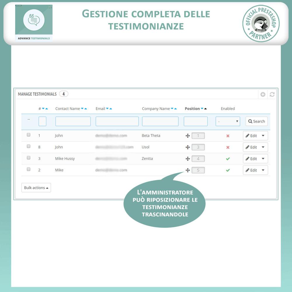 module - Recensioni clienti - Testimonianze anticipate - Recensioni Dei Clienti - 11