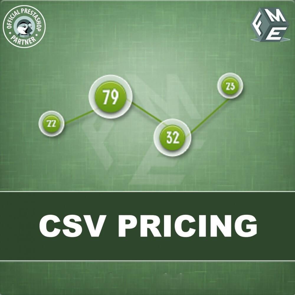 module - Omvang en eenheden - CSV-prijzen - Prijs op Basis van Lengte en Breedte - 1