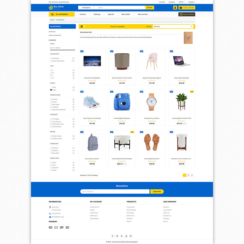 theme - Elektronik & High Tech - BuyStore - Multipurpose E-commerce Store - 7