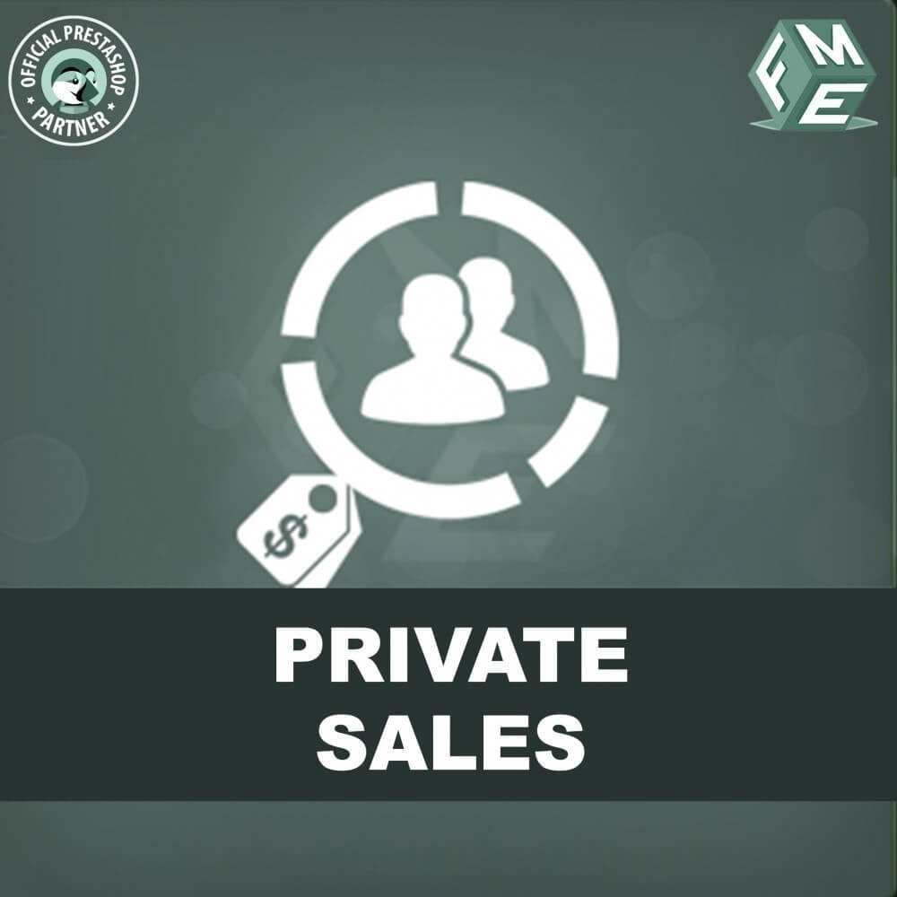 module - Flash & Private Sales - Categoria privata, vendita per gruppi di clienti VIP - 1