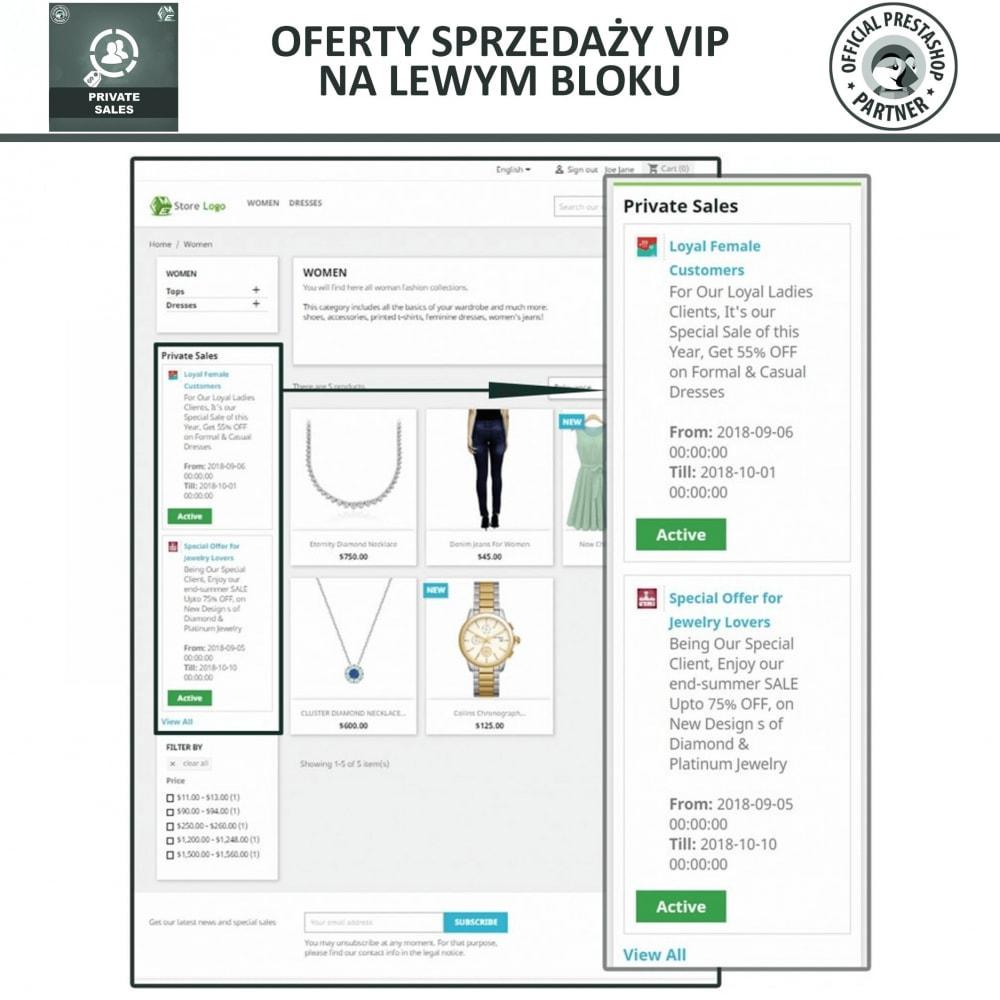 module - Sprzedaż Flash & Sprzedaż Private - Prywatna wyprzedaże dla klientów w grupach VIP - 2