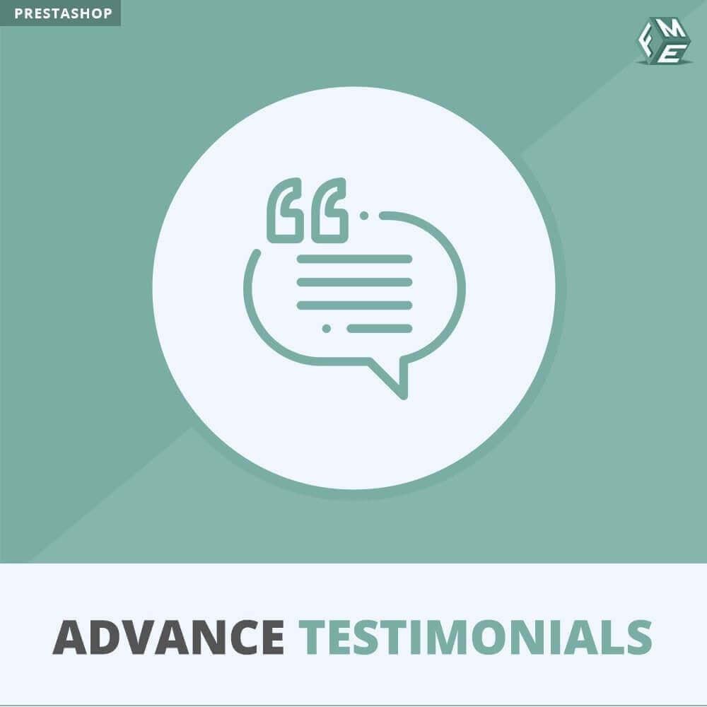 module - Opinie klientów - Zaawansowane referencje-recenzje klientów ze zdjęciami - 1