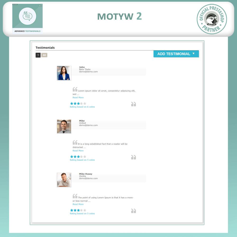 module - Opinie klientów - Zaawansowane referencje-recenzje klientów ze zdjęciami - 3