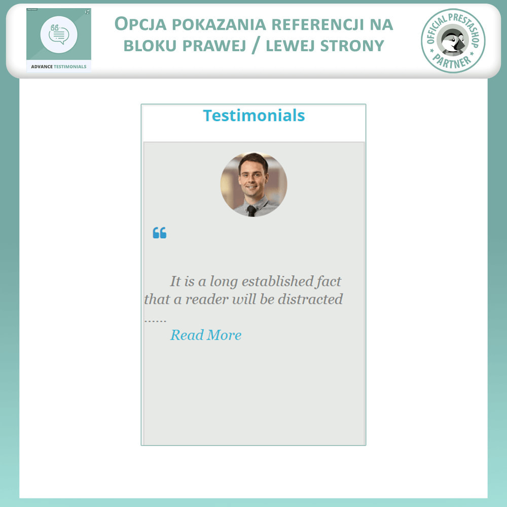 module - Opinie klientów - Zaawansowane referencje-recenzje klientów ze zdjęciami - 9