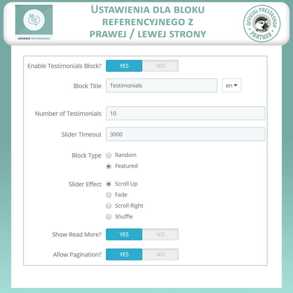 module - Opinie klientów - Zaawansowane referencje-recenzje klientów ze zdjęciami - 17