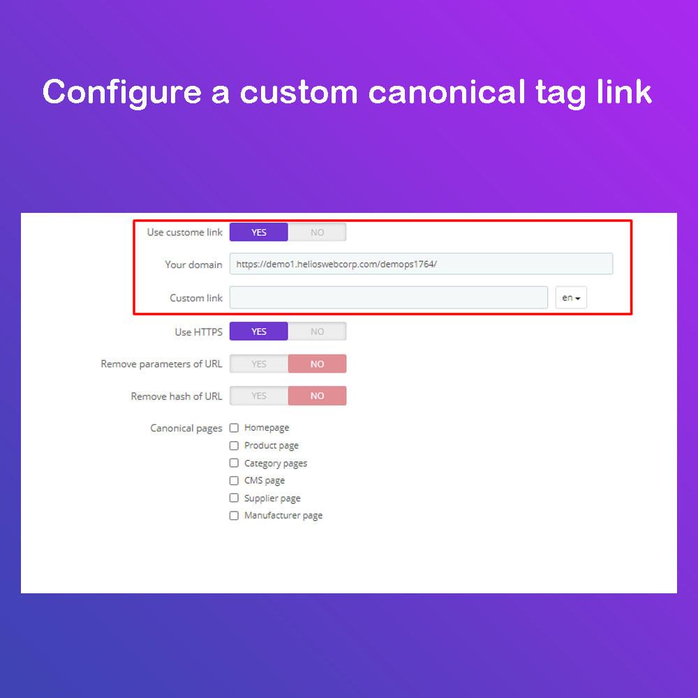 module - SEO - Google canonical URLs Tag - Google Ranking - 4