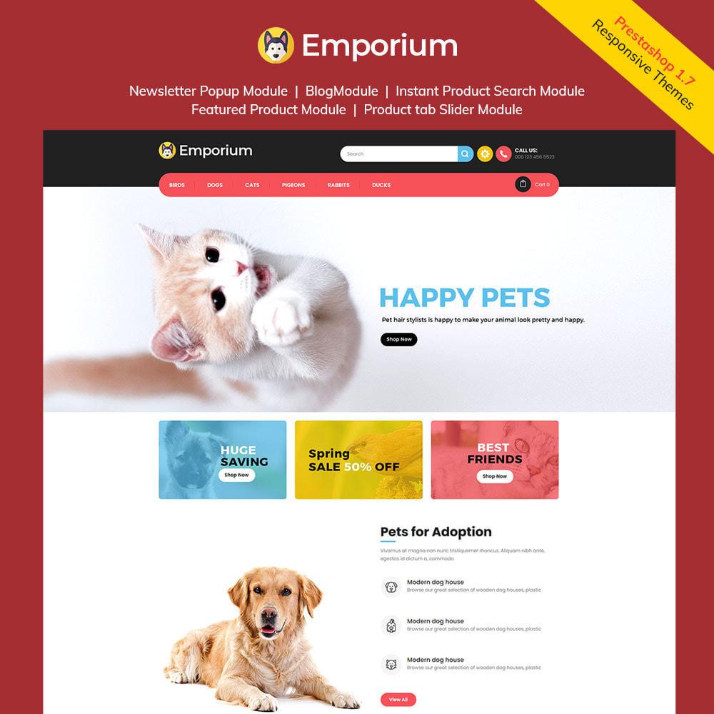 theme - Zwierzęta - Emporium Animal - Pet Care Store - 1