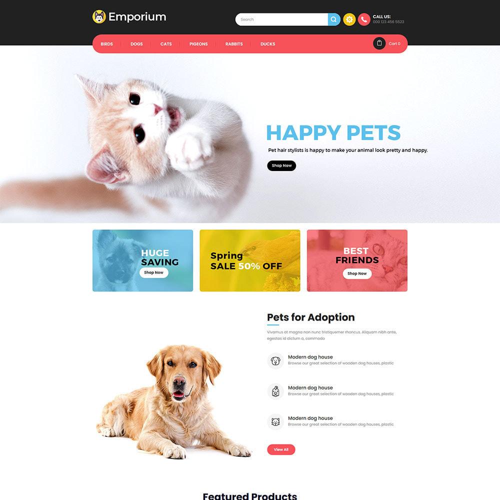 theme - Zwierzęta - Emporium Animal - Pet Care Store - 2