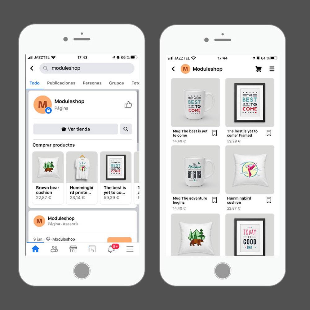 module - Produkten op Facebook & sociale netwerken - Social Networks Shop Catalog Importer - 6