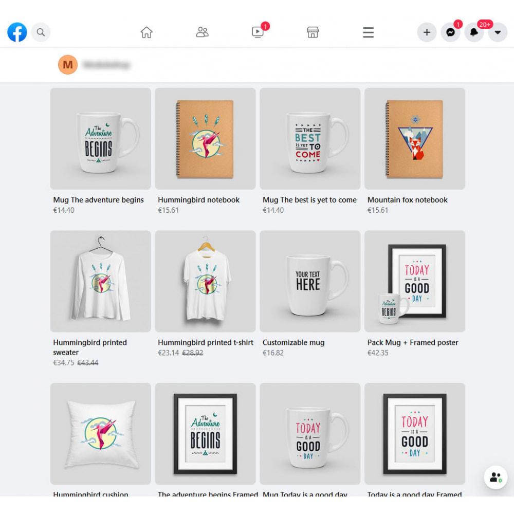 module - Produits sur Facebook & réseaux sociaux - Importateur de Catalogue sur Réseaux Sociaux Shop - 4