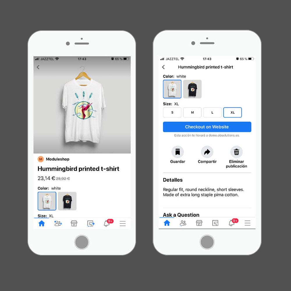 module - Produits sur Facebook & réseaux sociaux - Importateur de Catalogue sur Réseaux Sociaux Shop - 7