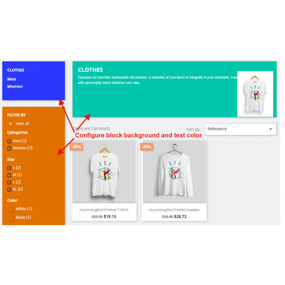 module - Page Customization - Custom Backgrounds and Text Color - 1