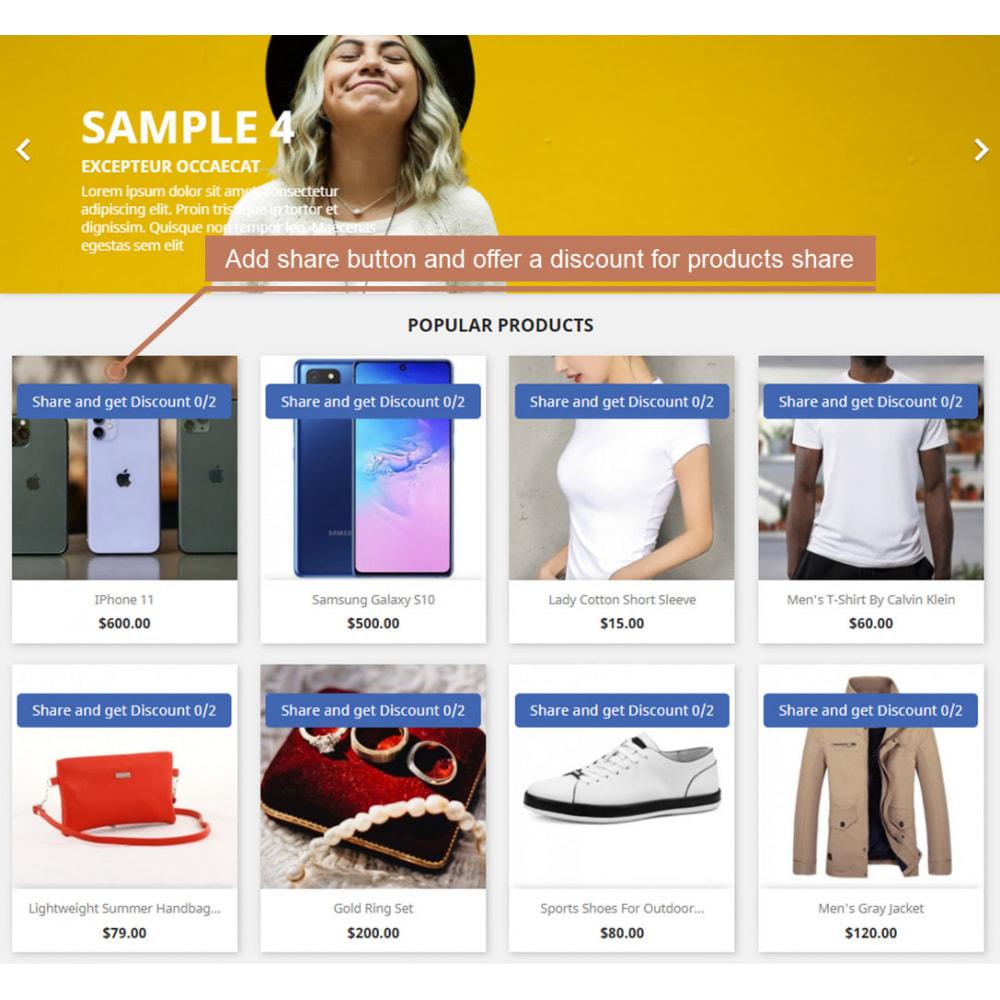 module - Deelknoppen & Commentaren - The Social Integration - Shop Tab, Comments, Login - 3