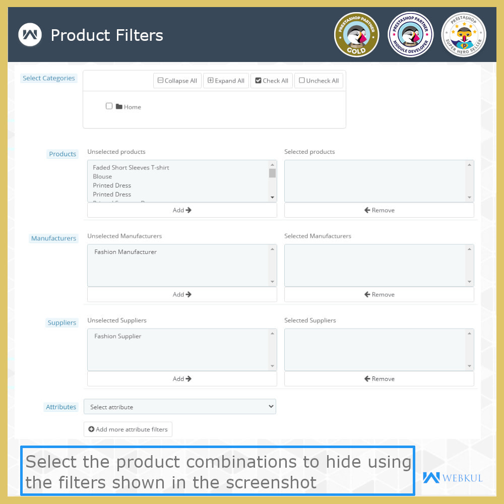 module - Combinations & Product Customization - Hide or Disable Attributes With Stock - 8