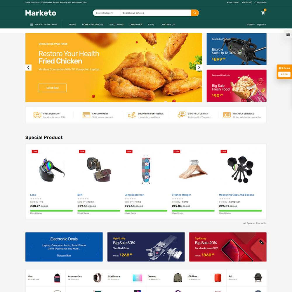 theme - Electrónica e High Tech - Marketo Mega Store - 2