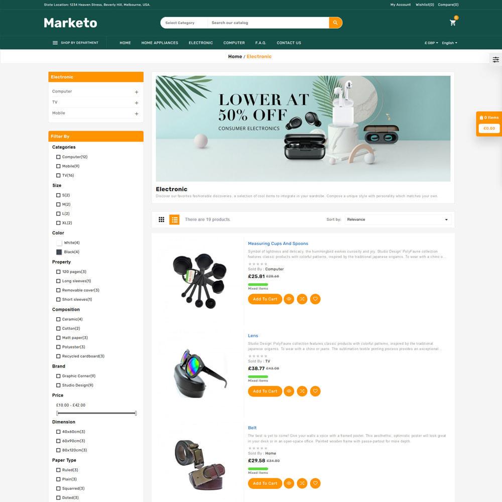 theme - Electrónica e High Tech - Marketo Mega Store - 4