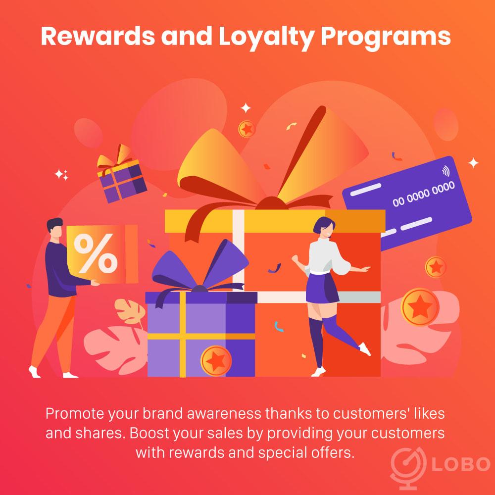 module - Programmi fedeltà & Affiliazione - 3in1 Reward point: loyalty, referral, affiliate program - 2