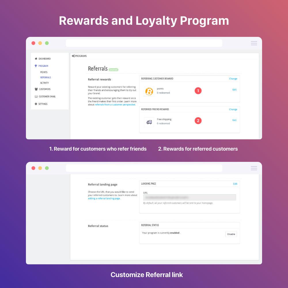 module - Programmi fedeltà & Affiliazione - 3in1 Reward point: loyalty, referral, affiliate program - 18