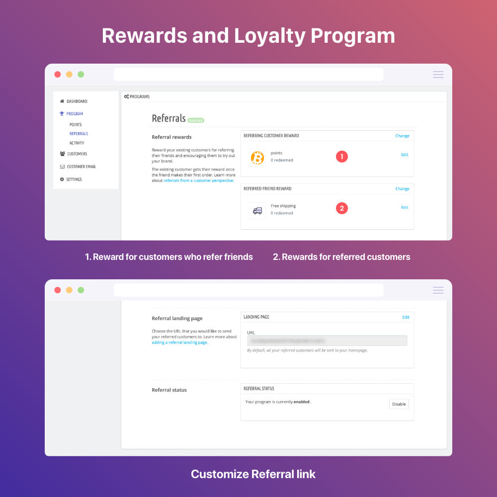 module - Empfehlungs- & Kundenbindungsprogramme - Powerful Rewards: loyalty, referral, affiliate program - 18