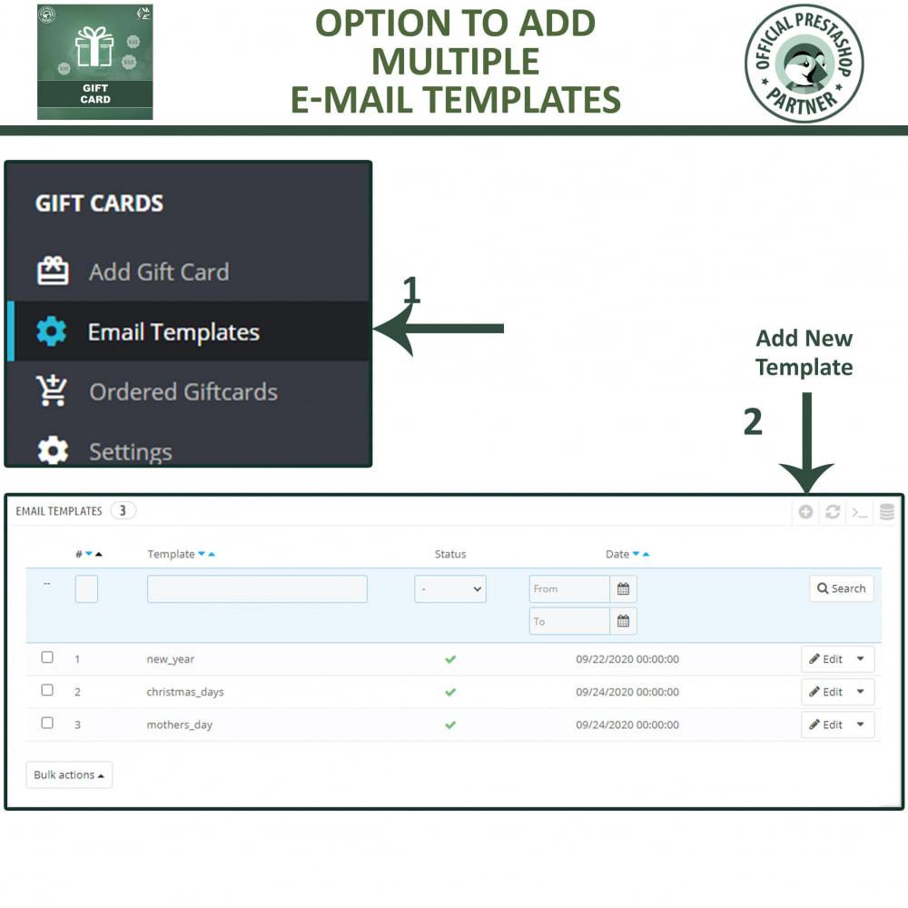 module - Lista de desejos & Vale-presente - Gift Card Module - Gift Certificates & Vouchers - 14
